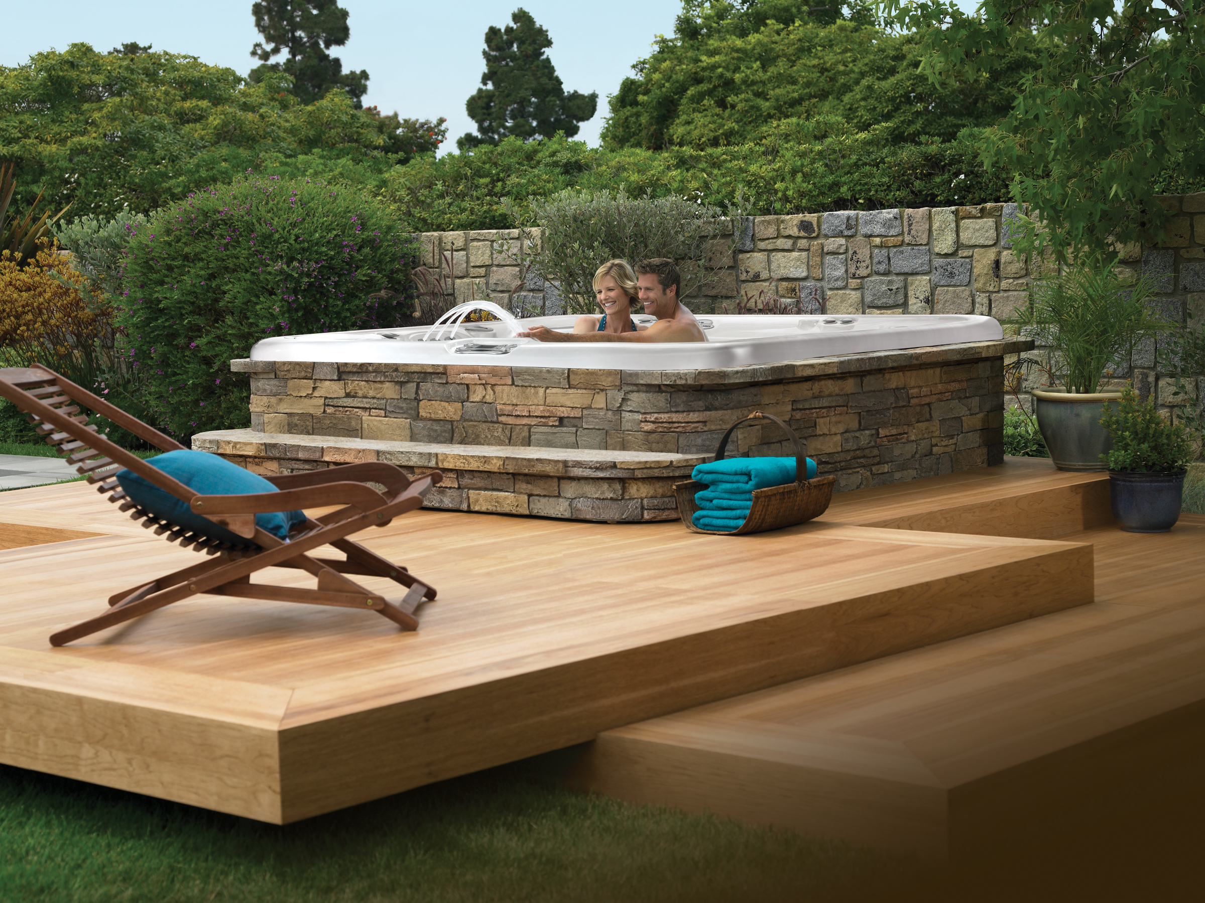 The Perfect Deck For Your Hot Springs Spa