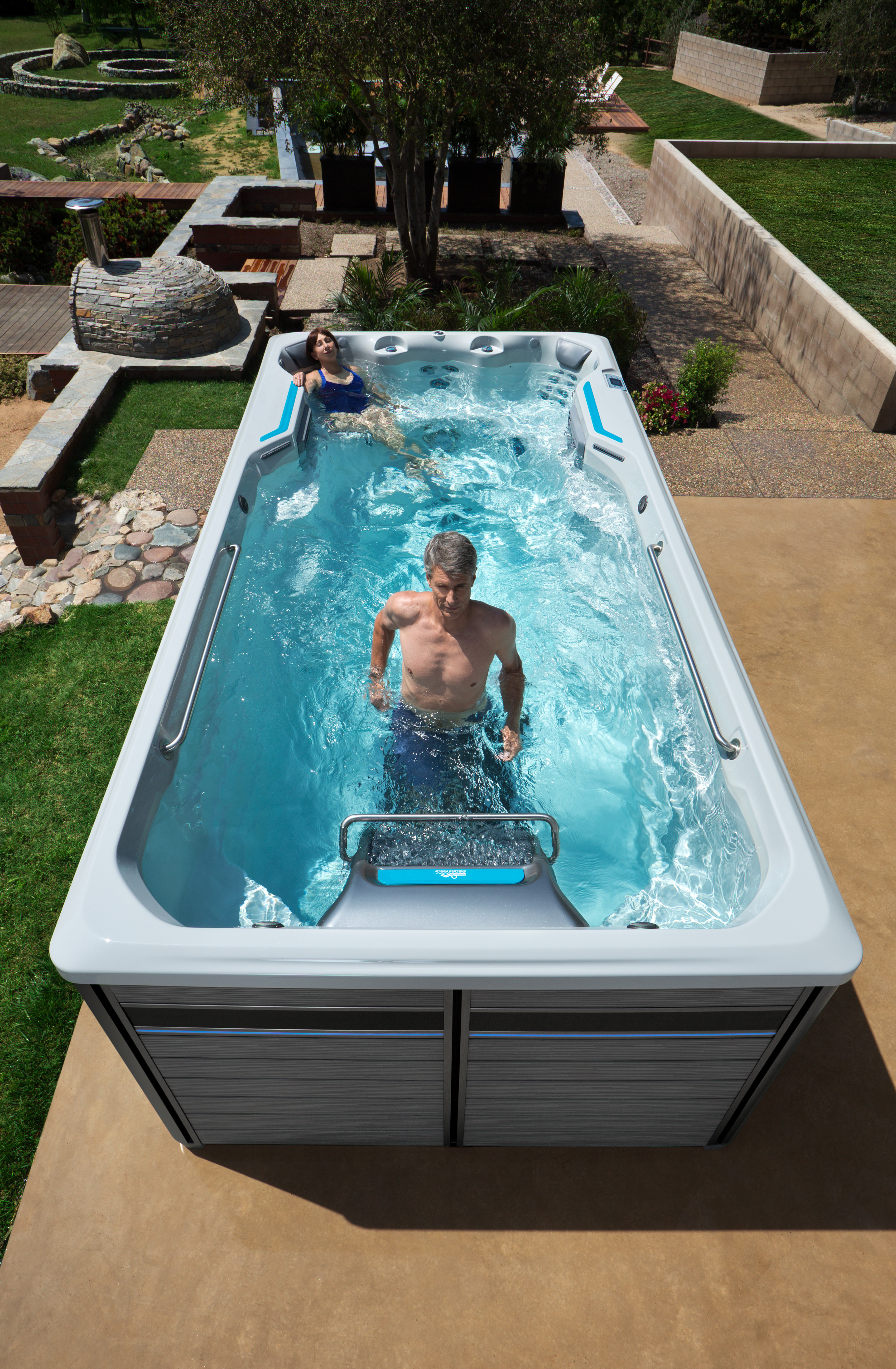Staying Active After 50 With A Swim Spa